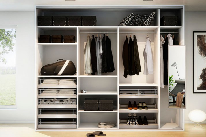 Stilig Garderober og Innredning - Farstad Profilsystemer PJ-97
